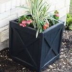 planter boxes,planters,diy,free woodworking plans,free projects,do it yourself