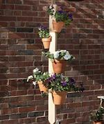 plant stands,pot hangers,outdoors,diy,free woodworking plans,free projects,do it yourself