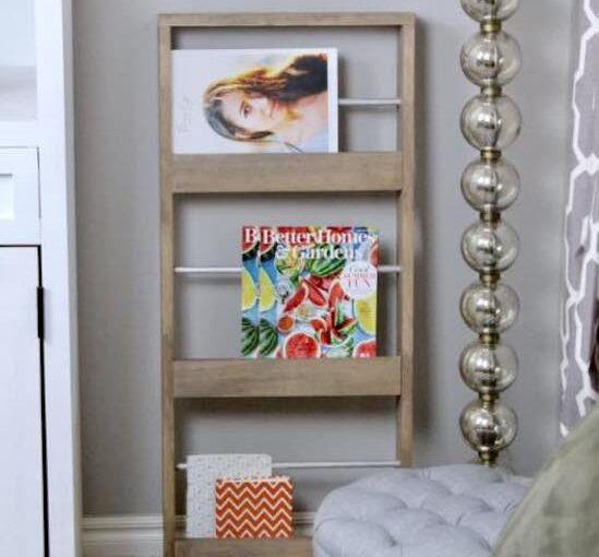 Easy Magazine Rack