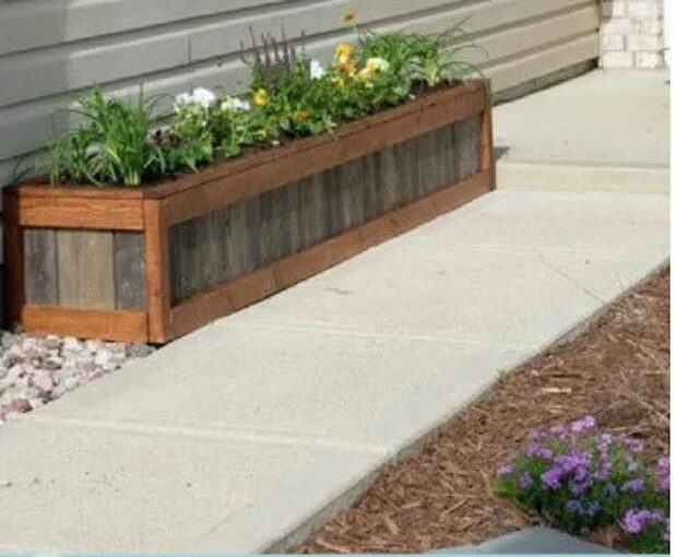Learn How to build a Planter Box.