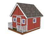 playhouse,childrens,playgrounds,diy,free woodworking plans,free projects,do it yourself