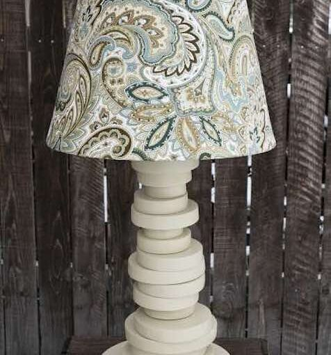 Lamp from Scrap Wood