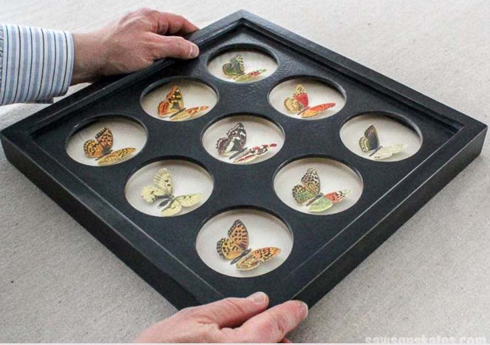 Free plans to build a Collage Picture Frame.