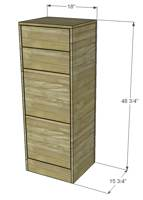 filing cabinets,offices,furniture,free woodworking plans,projects,diy