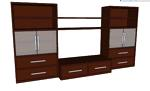 entertainment centers,sketchup,Google 3D,3-D warehouse,furniture,large,wooden,drawings,free woodworking plans,projects,do it yourself,woodworkers