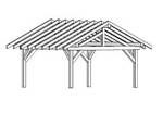 pavilion,outdoors,sketchup,Google 3D,3-D warehouse,drawings,free woodworking plans,projects,do it yourself,woodworkers