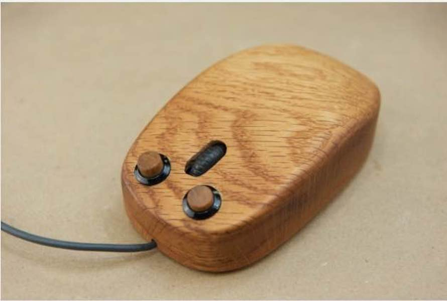 Free plans to build a Working Wooden Mouse.