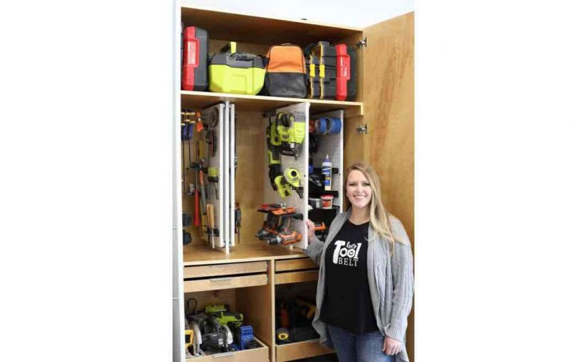 Hand Tool Storage Cabinet