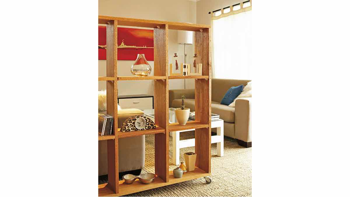 room dividers,open shelves,open shelf room dividers,diy,free woodworking plans,free projects,do it yourself