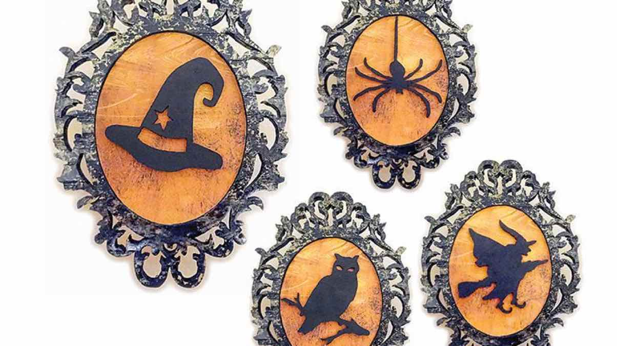 halloween plaque,scrollsaw,scroll saws,diy,free woodworking plans,free projects,do it yourself