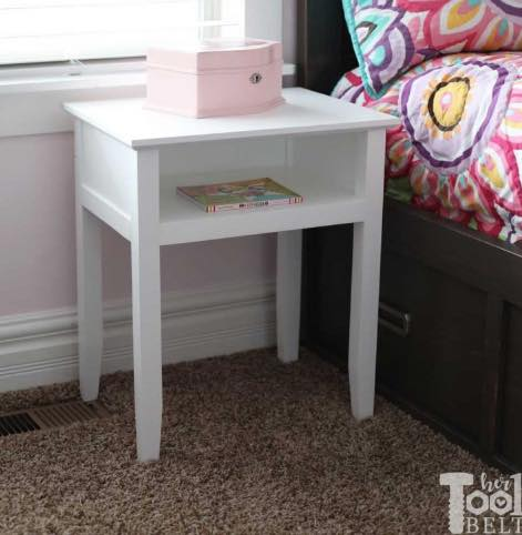 nightstand,bedside tables,furniture,diy,free woodworking plans,free projects,do it yourself