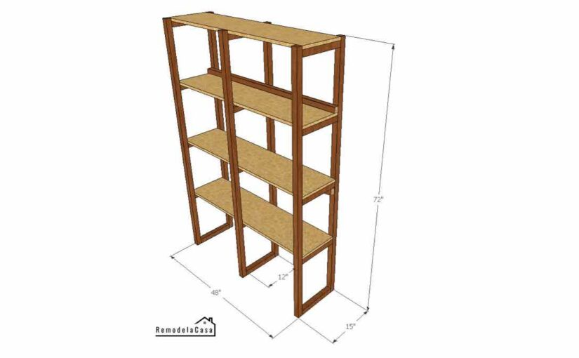 Simple Office Shelf