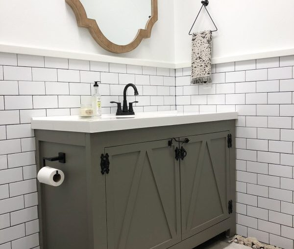 Farmhouse Bathroom Vanity