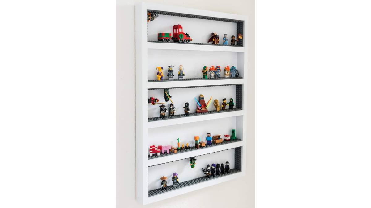 lego display,wall mounted,diy,free woodworking plans,free projects,do it yourself