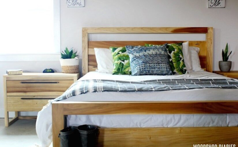 Modern Queen Size Bed