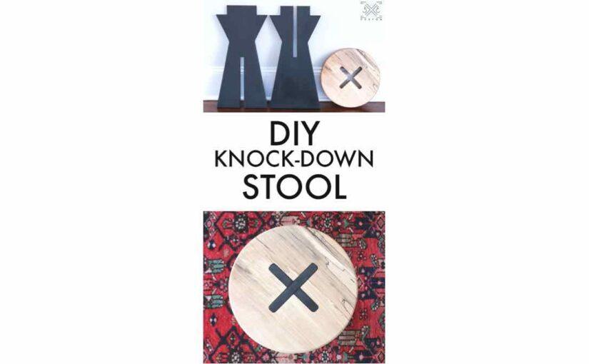 Knock Down Stool