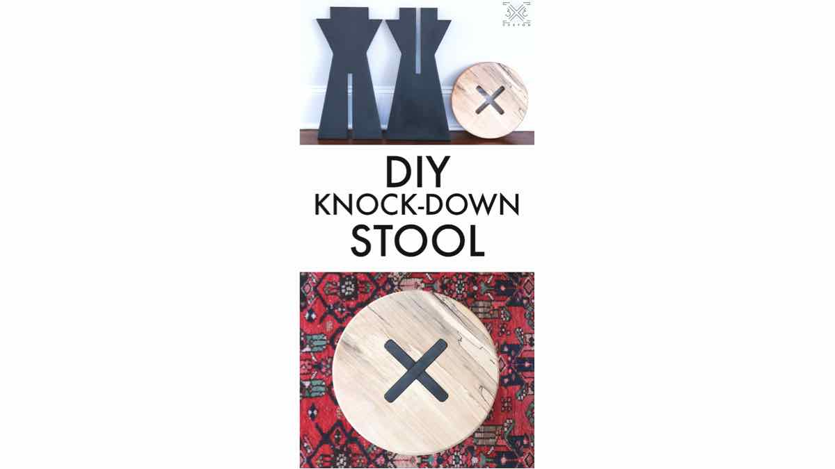 stools,knock down stools,diy,free woodworking plans,free projects,do it yourself