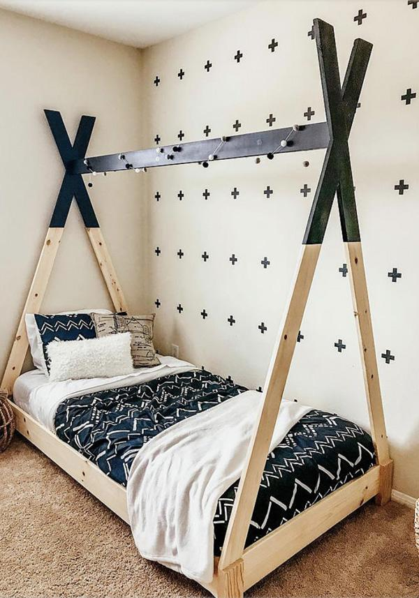 Build a Teepee Bed for Kids.