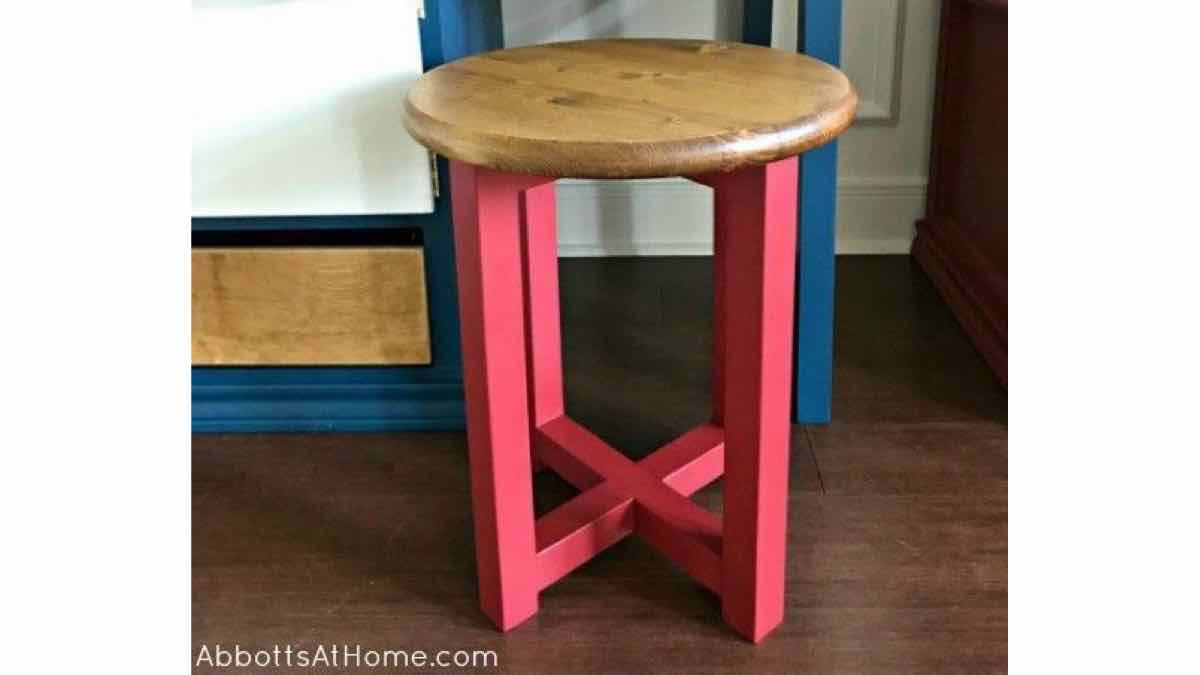 how to make a stool for a child