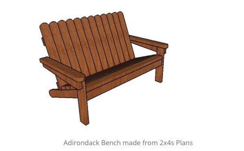 Adirondack Bench
