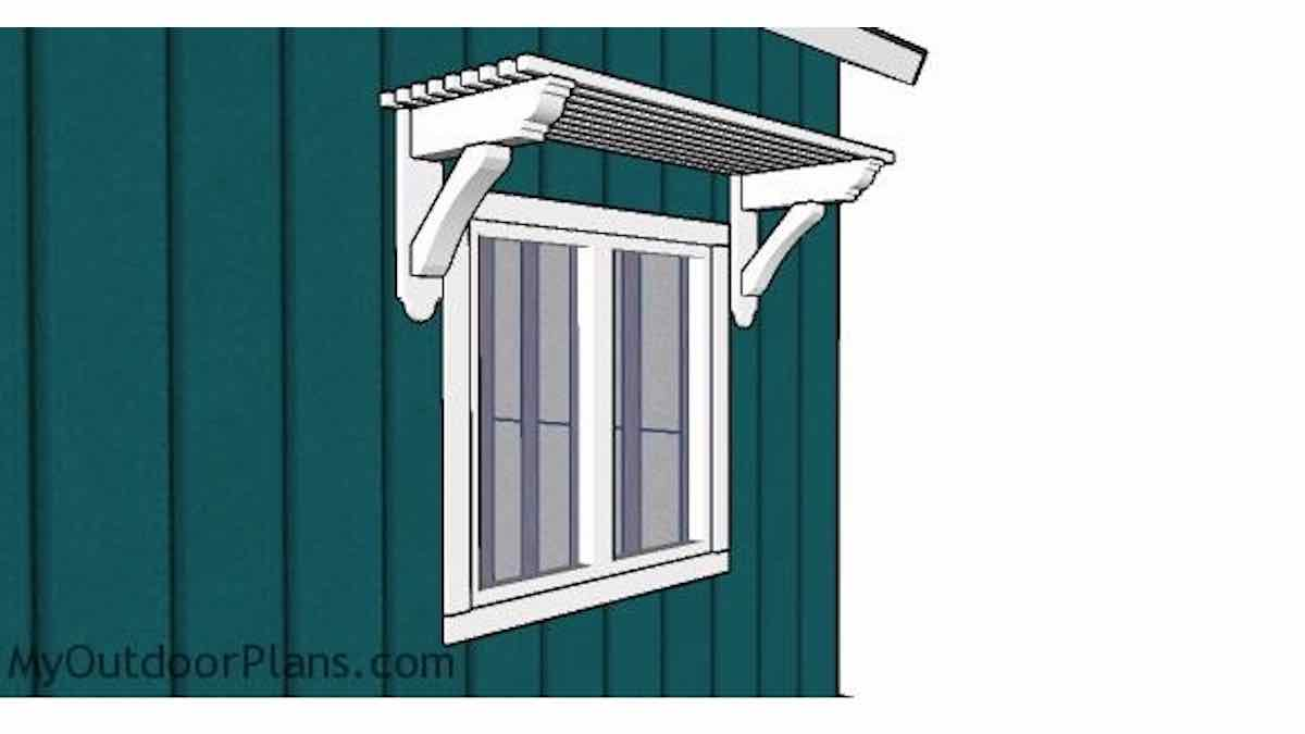 How to build a window trellis