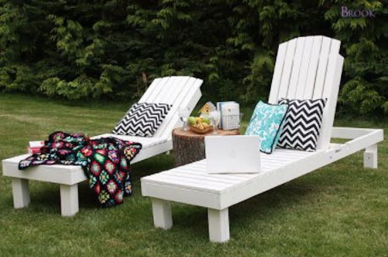 Free plans to build an Adjustable Lounge Chair.