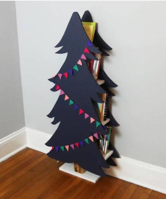 Free plans to build a fun Book Tree.