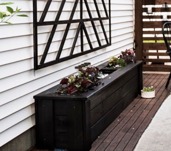 Build a Planter Box with Beverage Cooler.