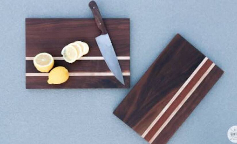 Cutting Board Without a Planer