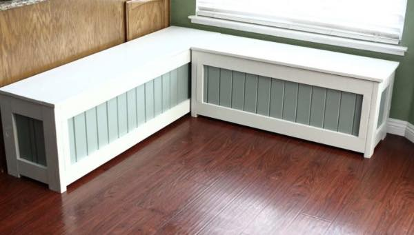 Free plans to build a Storage Bench.