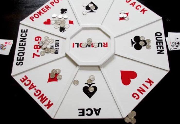 Rummoli Game Board