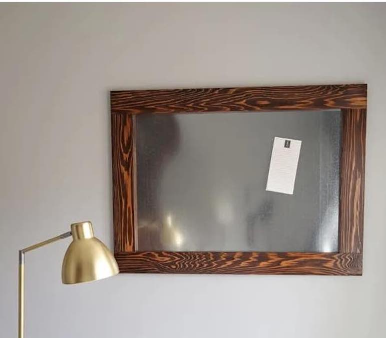 Build a Magnetic Board with free plans.