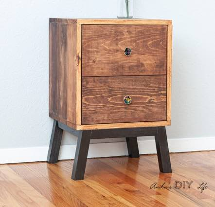 Nightstand with Drawers