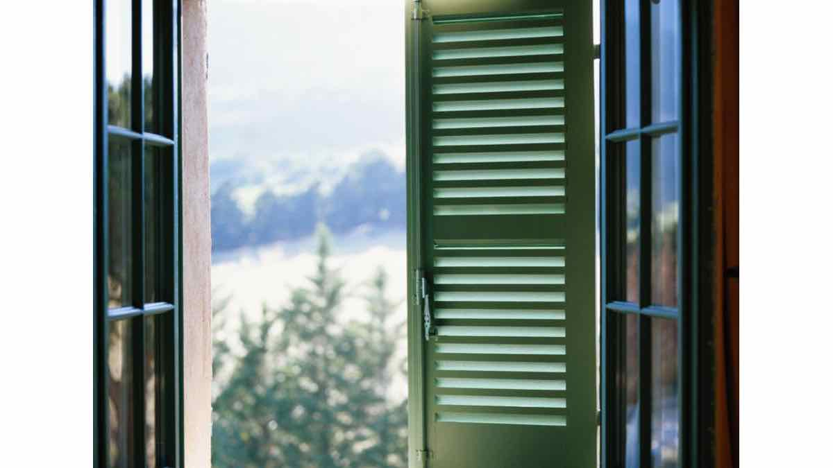 How to build window shutters.