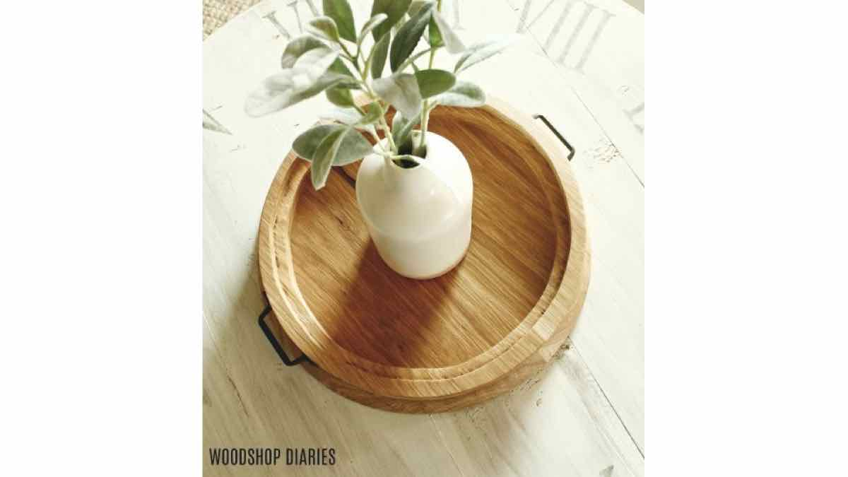 Steps on how to make a wooden tray