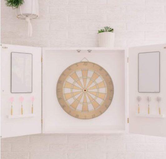 Modern Dart Board Cabinet