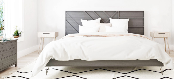 Learn how to build a Modern Platform Bed Frame.