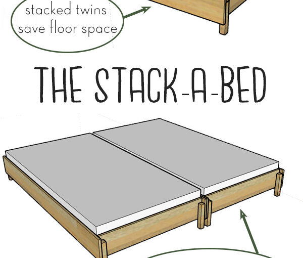 Bed Converts from Twin to King Size