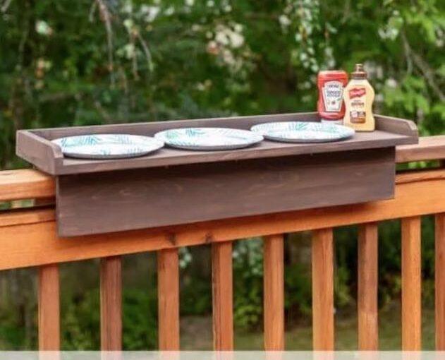 Deck Railing Table PDF