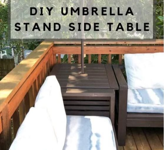 Outdoor Side Table/Umbrella Stand PDF