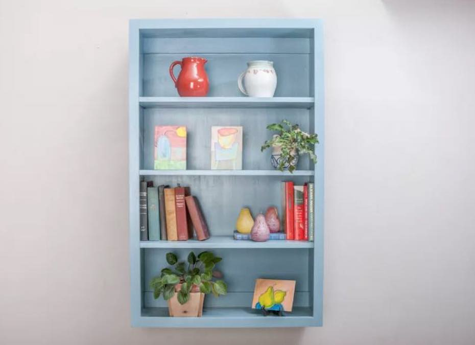 Build a Basic Wall Cabinet with free plans.