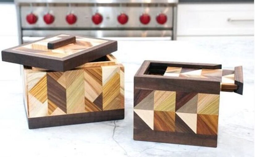 Patterned Boxes