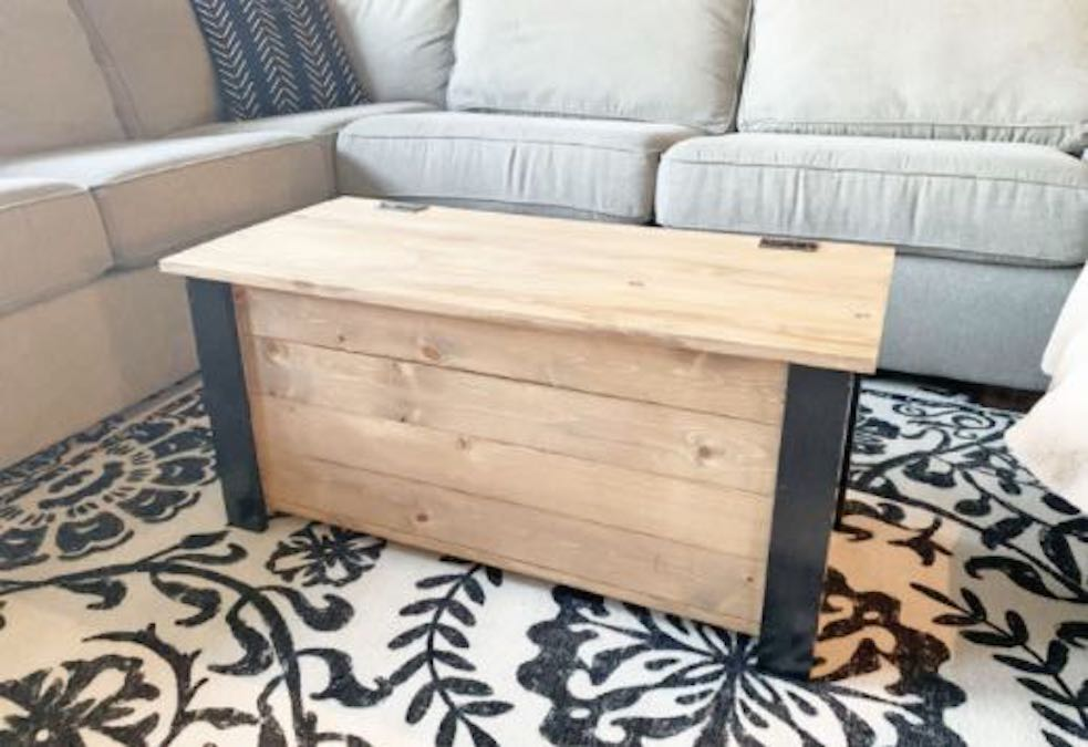 Build a Toy Box for Children with free plans.