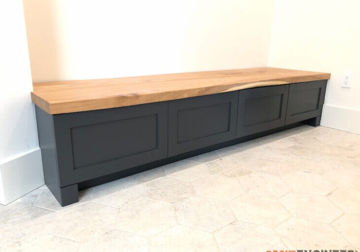 Mudroom Built In Bench Free Woodworking Plan Com