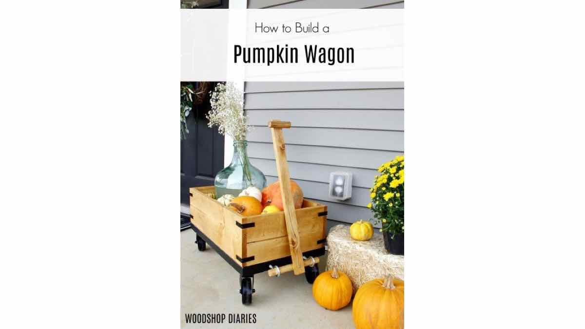 How to build a small pull wagon.