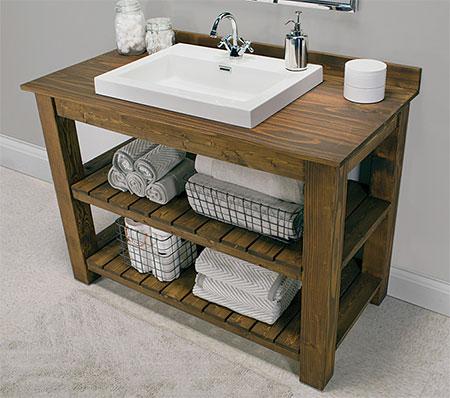 How to build a Bathroom Vanity.