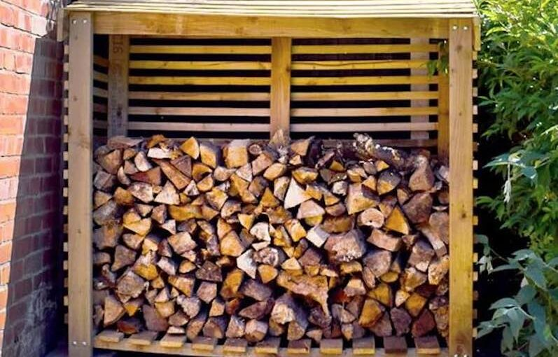 Firewood Shed or Log Store