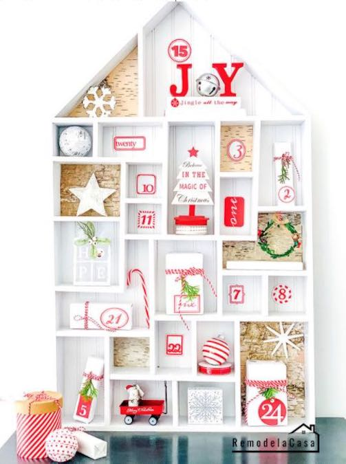 Build your own Advent Calendar using free plans.