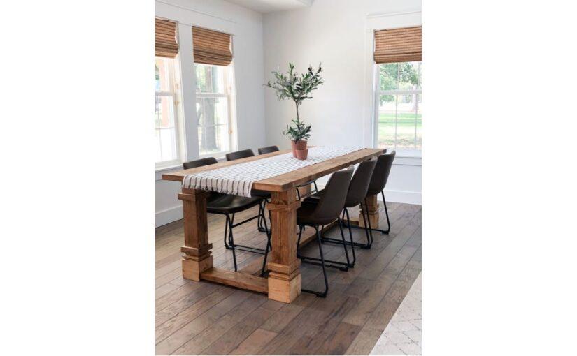 Modern Farmhouse Dining Table PDF