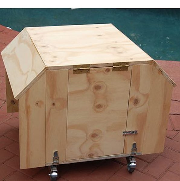 Free plans to build a Generator Cover.